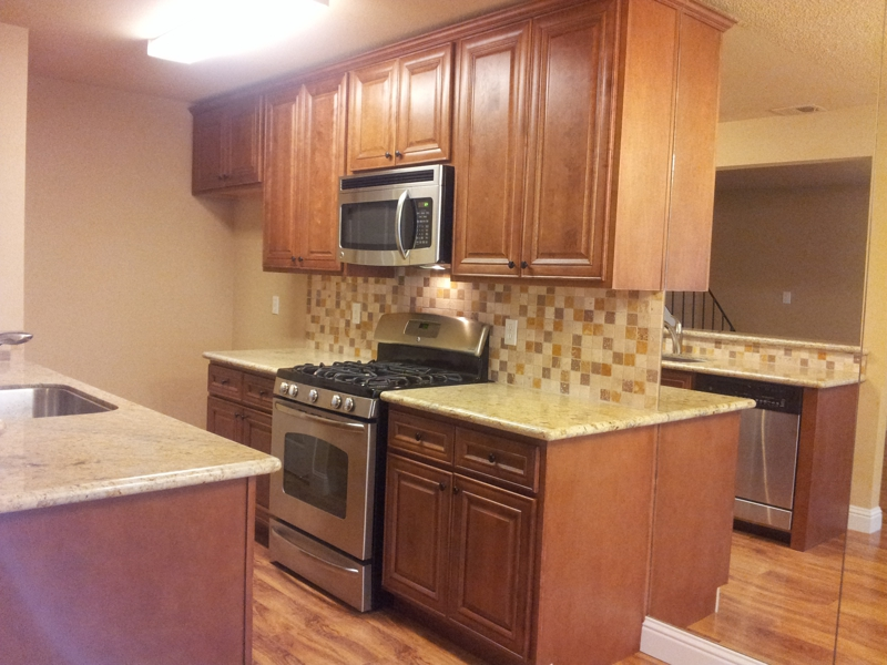"The ""AFTER"" Kitchen - Foreclosure in Roseville, CA"