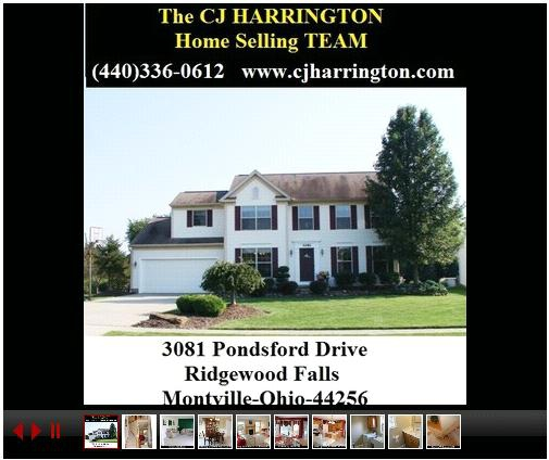 Cleveland Real Estate-3081 Pondsford Dr(Montville, Ohio 44256)...Call (440)336-0612 or Visit WWW.CJHARRINGTON.COM