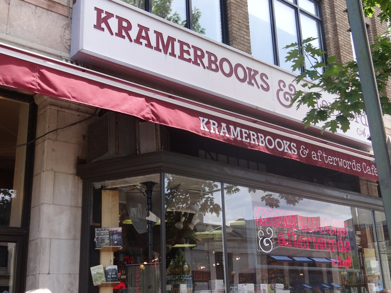 Kramerbooks and Afterwords Cafe in Dupont Circle, Washington, DC