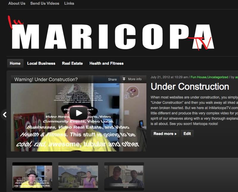In Maricopa TV