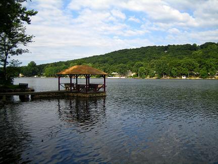 Cedar lake section of denville nj for Fishing lakes in nj