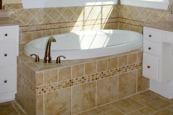 Tile Tub Surrounds   New Home Ideas   Tile Master Bath Ideas   New Homes  Raleigh. Tile Tub Surround Ideas   Raleigh Custom Home Trends