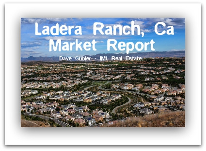 Ladera Ranch Real Estate Market Report October 2010