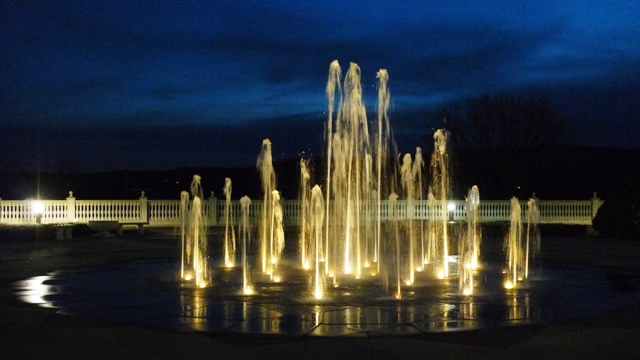 Fountain at CAI