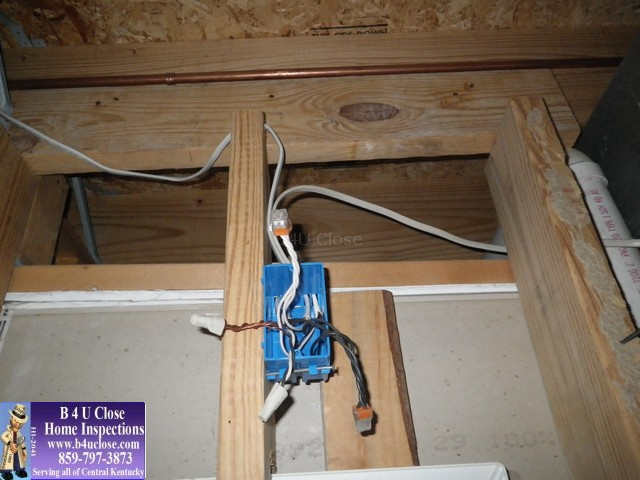 Electrical Junction Box - Lexington KY Home Inspections