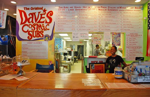 Dave's Cosmic Subs University Heights Ohio