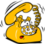 cartoon telephone