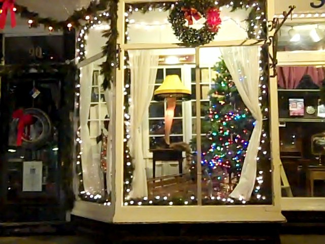 the famous leg lamp in northport village ny