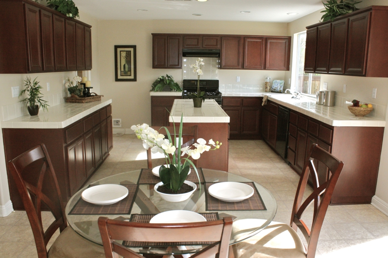 Winchester CA Kitchen Home Staging