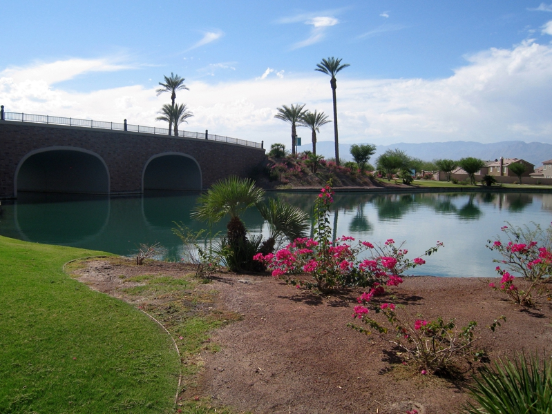 Lakefront homes in Indio, CA