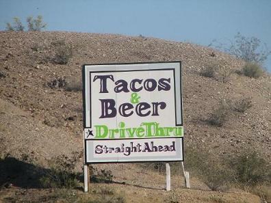 Drinking and driving OK in Parker AZ?