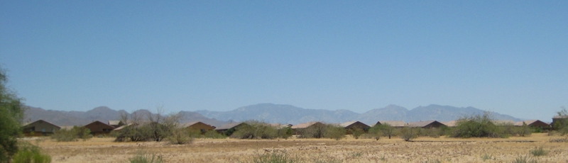 Tortolita Mountains from San Lucas, Marana, AZ