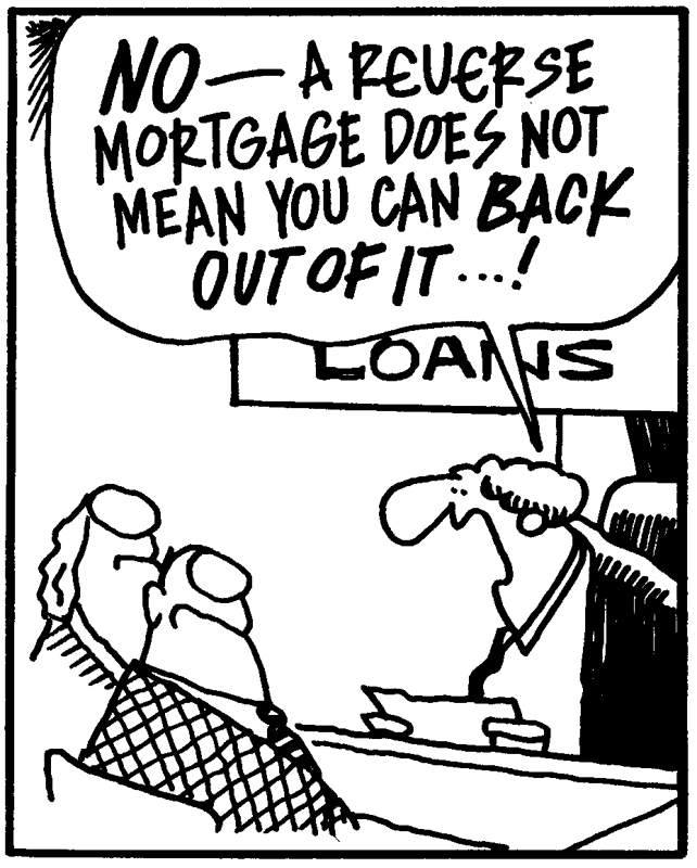 FUNNY FRIDAY... Reverse Mortgage Meaning