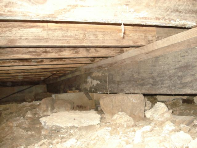 kentucky home inspector rotted joists
