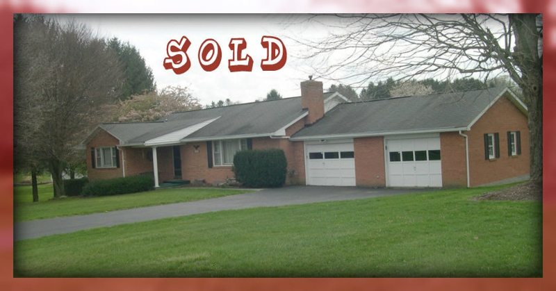 SOLD 112 Shady Oaks Lane, Lewisburg WV by Rebecca Gaujot