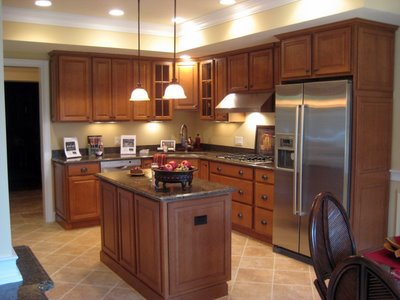 gourmet kitchen at the villas at eagles nest