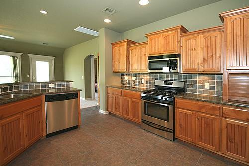 New construction kitchen in Owasso, Oklahoma area