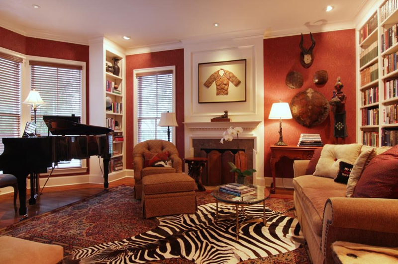 2801 Colquitt, Houston Texas - Living Room