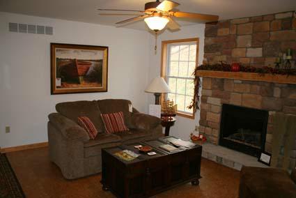 Davidson Model Living Room
