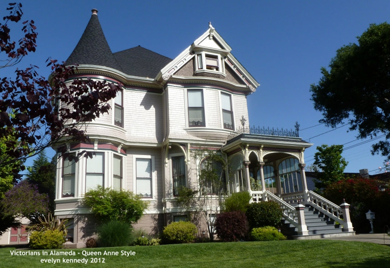 Victorians in Alameda - Queen Anne Style  Victorians in A...