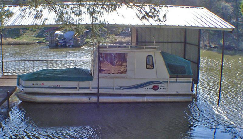 30' Party Hut Pontoon Boat For Sale - Extra Nice! Kitchen ...
