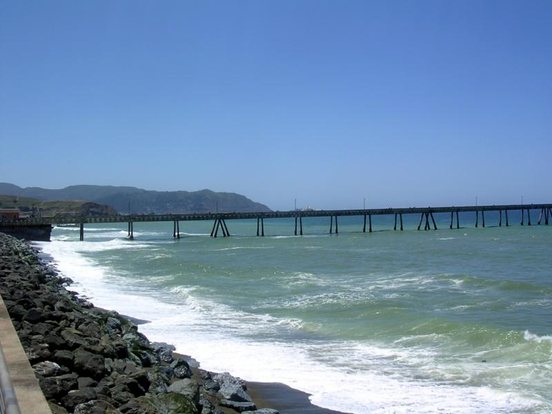 Fishing Pier in Pacifica