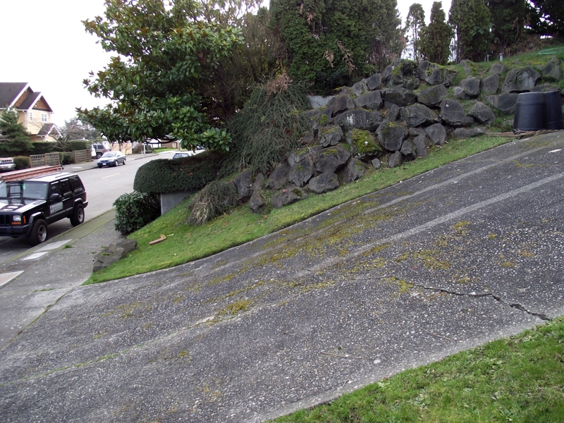 Steep driveway solutions related keywords steep driveway for Sloped driveway options