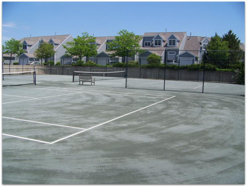 White Cliffs Country Club - Tennis Courts by Judy Jennigns