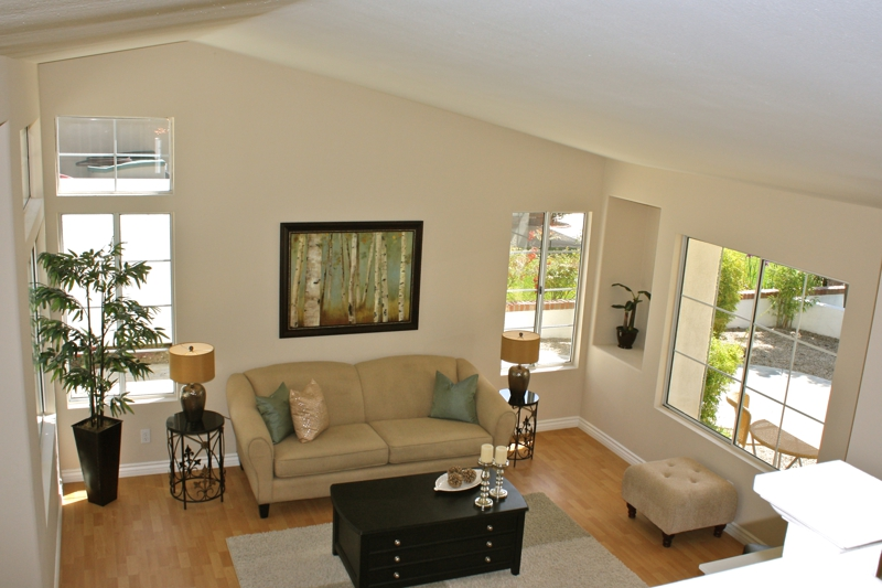 Murrieta Home Staging Living Room