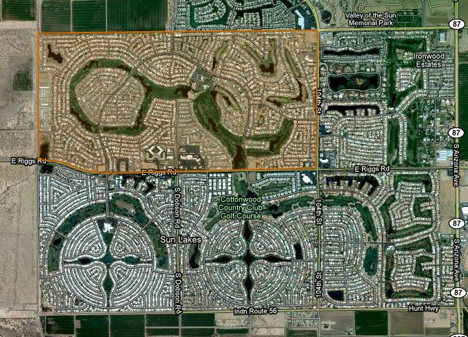 Oakwood Country Club Sun Lakes Homes For Sale