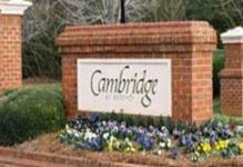 Cambridge Subdivision, Cary NC Real Estate