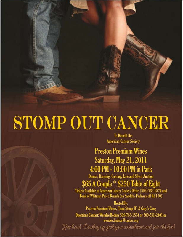 Stomp Out Cancer, Tri Cities Washington