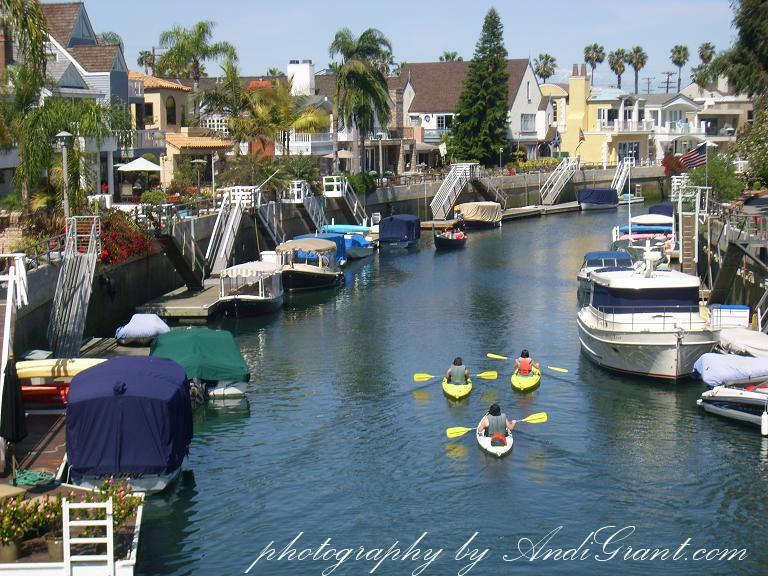 Naples, CA - Long Beach Canal Kayaking