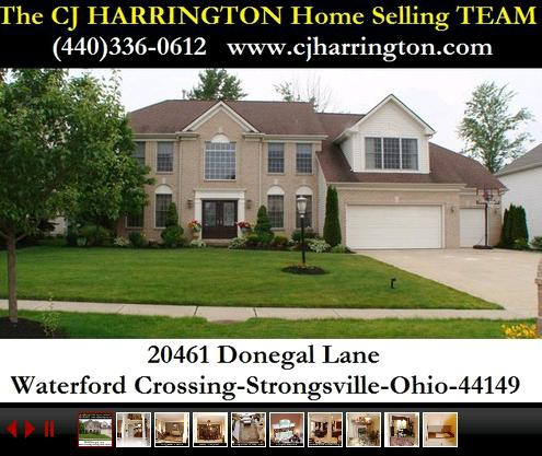Cleveland Real Estate-20461 Donegal Lane(Strongsville, Ohio 44149)...Call (440)336-0612 or Visit WWW.CJHARRINGTON.COM