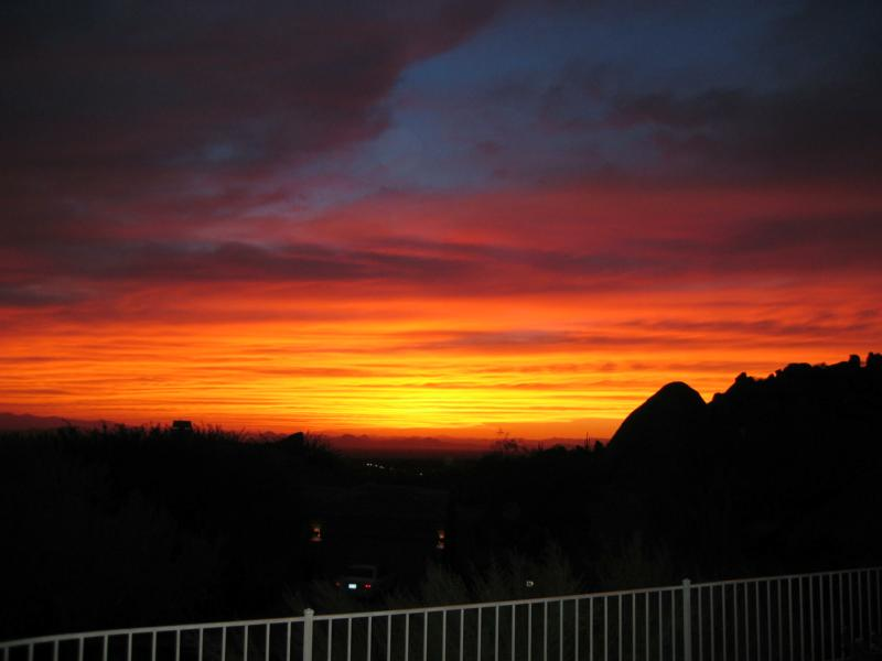 Scottsdale Sunset for Sale in Troon Village!