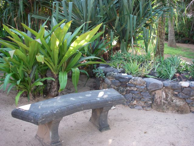 benches from around Maui Hawaii - please enjoy the view
