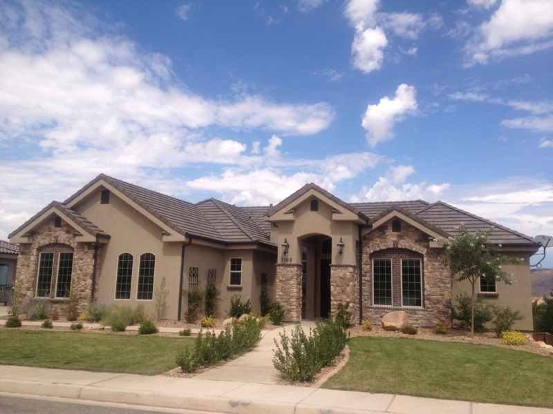 St george utah housing market conditions august 2012 Cost to build a house in utah