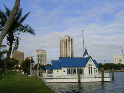 Floating Wedding Chapel