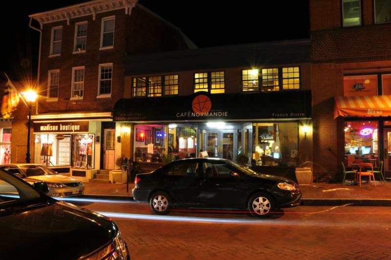 Cafe Normandie, A French Bistro, Annapolis, Maryland, 21401