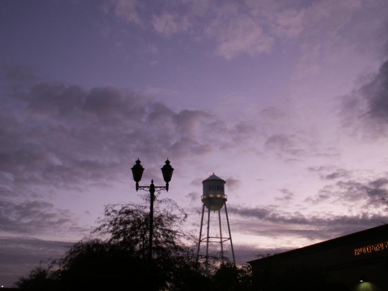 Water Tower in Gilbert AZ