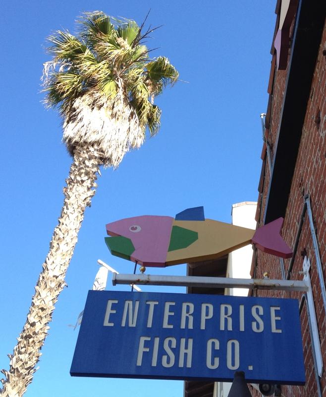 A luxury moment happy hour in santa barbara for Enterprise fish co santa barbara
