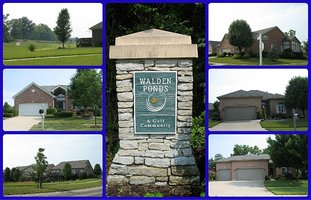 Walden Ponds patio home community of Fairfield Township Ohio