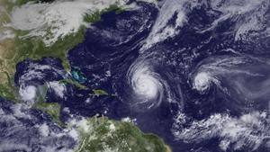 Hurricanes in 2010
