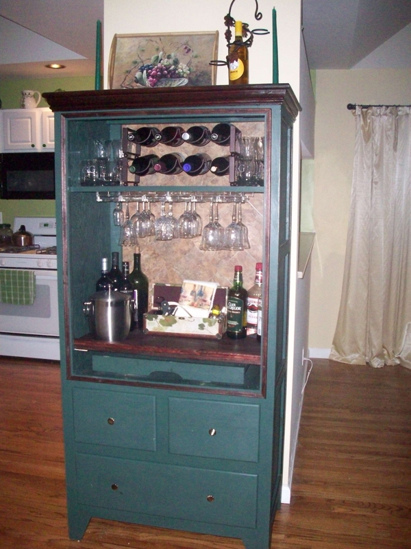 Repurpose Old Tv Armoire