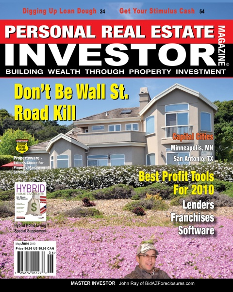 Personal Real Estate Investor magazine cover May/June 2010