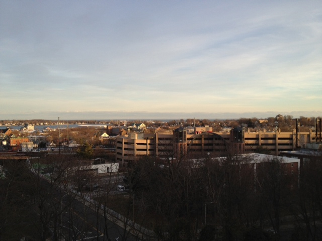 view of Norwalk CT city