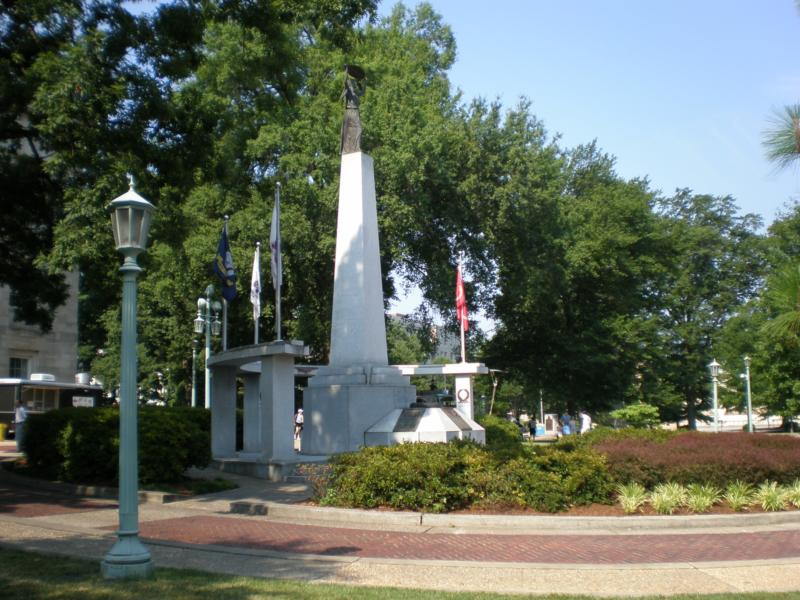 WWII Memorial Downtown Raleigh - North Carolina Veterans Monument - Downtown Raleigh Walking Tour