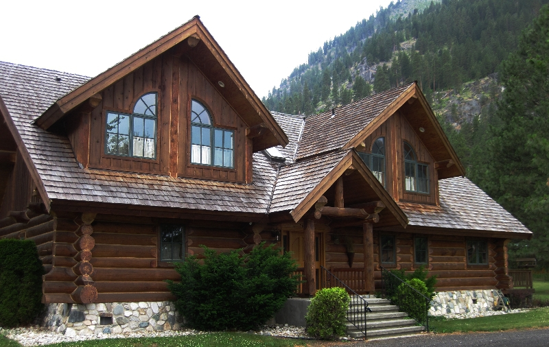 Beautiful log home Wenatchee Home Inspections