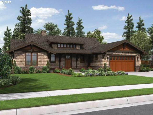 One level model homes