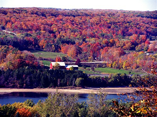 View from Kelso Conservation Area near Oakville, Ontario
